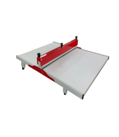 Máquina de Corte e Vinco 100cm -- Fabricação de  Embalagens Delivery e E-commerce, Caixas De Pizza - Modelo Manual