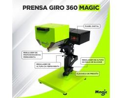 Maquina de transfer Giro 360 - Magic