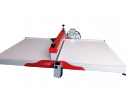 Composição  Máquina de Corte e Vinco ELÉTRICA  80cm  embalagens e caixas de pizza