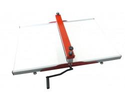 maquina de corte e vinco manual para caixa de pizza