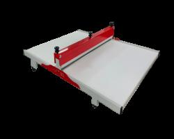 maquina de corMáquina de Corte e Vinco 100cm -- Fabricação de  Embalagens Delivery e E-commerce, Caixas De Pizza - Modelo Manual te e vinco manual para caixa de pizza e embalagens