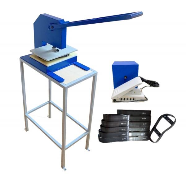 Máquina De Fazer Chinelo Manual Excêntrica