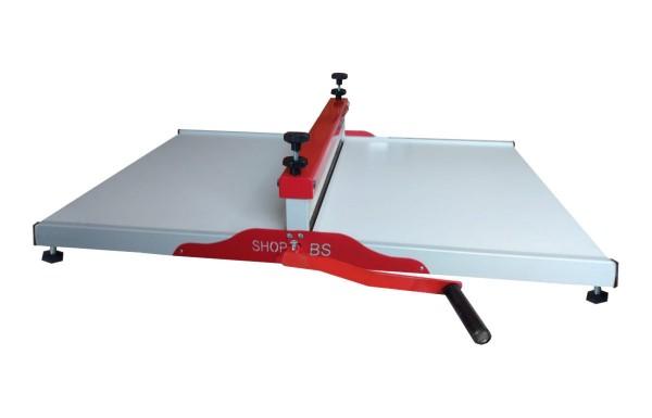 Máquina de Corte e Vinco Manual  caixa de pizza