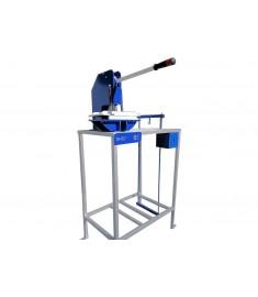 Máquina De Fazer Chinelo Manual Excêntrica + kit 15 facas chinelo