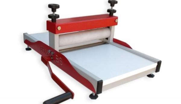 Máquina de corte e vinco manual 30cm