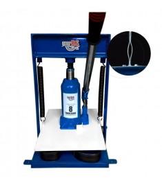 Máquina De Fazer Chinelo Hidraúlica 8 Toneladas + Kit 11 Facas Qualquer Modelo